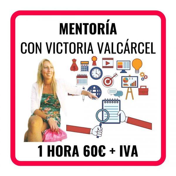 MENTORÍA CON VICTORIA VALCÁRCEL.