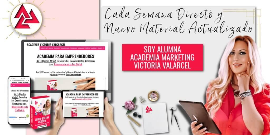 ACADEMIA MARKETING VICTORIA VALCARCEL, SEO, WEB, REDES SOCIALES, PUBLICIDAD